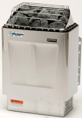 Finlandia Fin-60-s Sauna Heater With Griffin Digital Control 6kw 240v1ph Maximum 300 Cubic Feet