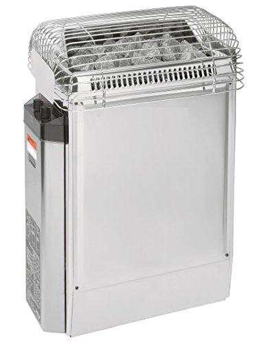 Harvia Topclass 6KW 240V-1PH Electric Sauna Heater with Control Panel  Includes Sauna Stones