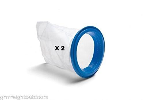 2 Pack Intex Vacuum Debris Bag With Ring