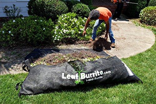 Large 7-foot Leaf Burrito Lawn Debris Bag