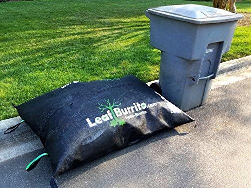 Medium 5-foot Leaf Burrito Lawn Debris Bag