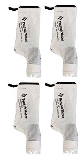 Pentair 360002 Letro Legend Snap Lock Cleaner Debris Replacement Bags 4-pack