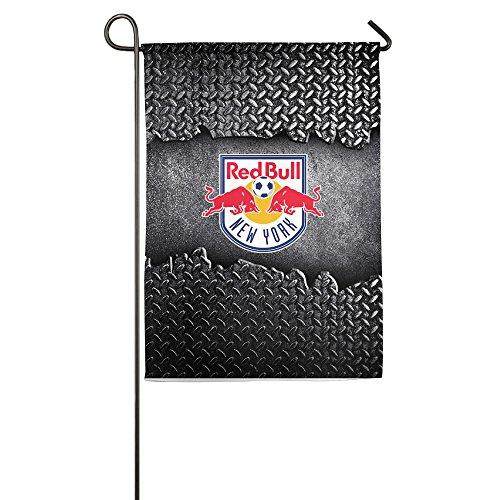 New York Red Bulls Soccer Team Flag Decorative Outdoor Flags Yard Flag