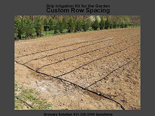 Vegtable Garden Drip Jr Kitndash 10 Rows X 50 Ft&ndash Watering Garden Drip Irrigation