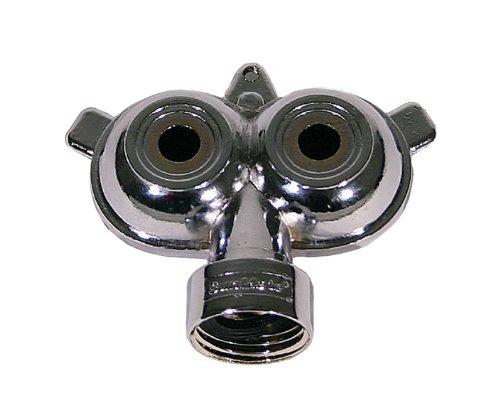 2 Pack - Orbit Twin Circle Spray Yard Sprinkler for Hoses