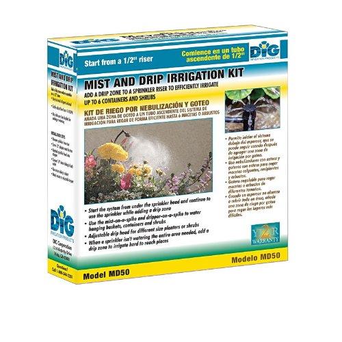 DIG MD50 Mist Drip Irrigation Kit