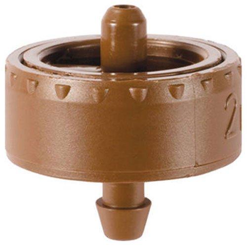 DIG W2205A 5 GPH Button Irrigation Dripper 25 Pack Brown