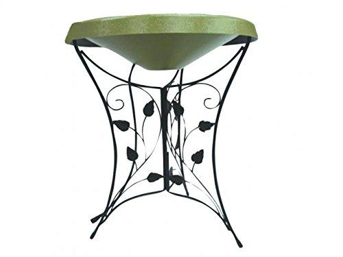 Birds Choice Ivy Pedestal Heated Bird Bath