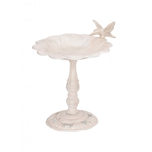 Cast Iron Hummingbird W Bird Birdbath Garden Bath Feeder Bird Fairy Pixie