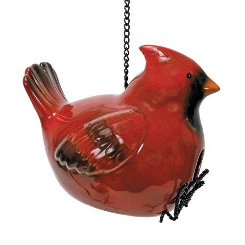 Natures Garden Bird House Red Cardinal