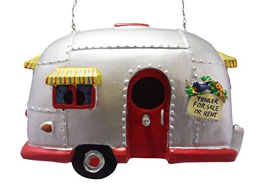 Camper Birdhouse Trailer Bird House Airstream Style Rv Home Decor Yard Garden Porch Patio Country