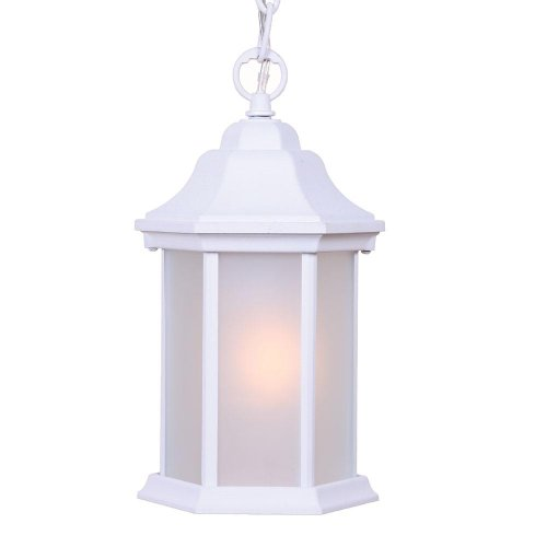 Acclaim 5185twfr Madison Collection 1-light Outdoor Light Fixture Hanging Lantern Textured White