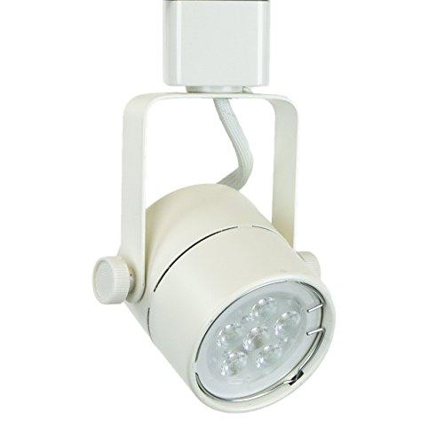Direct-lighting 50154l White Gu10 Led Track Lighting Head - With 75w Led Bulb