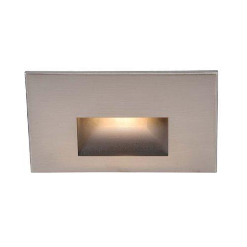 Wac Lighting Wl-led100-c-bn Led Step Light Rectangular Scoop