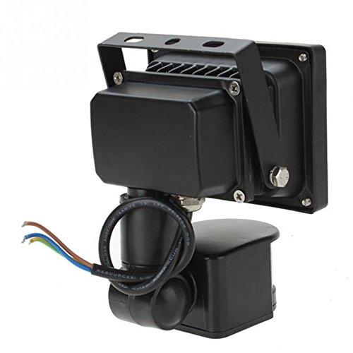 10W 20W 30W WhiteWarm White 800LM Motion Sensor Security PIR LED Flood Light 85-265V Outdoor Lighting Floodlights -Pier 27