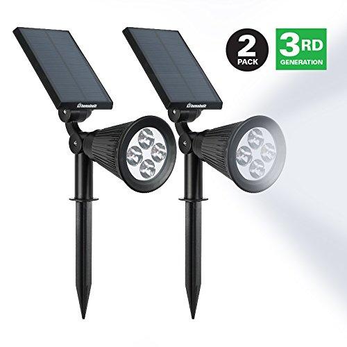 Led Floodlightamp Exterior Lighting By Humabuiltndash Solar Powered Outdoor Spotlight For Your Yard Garden Walkway