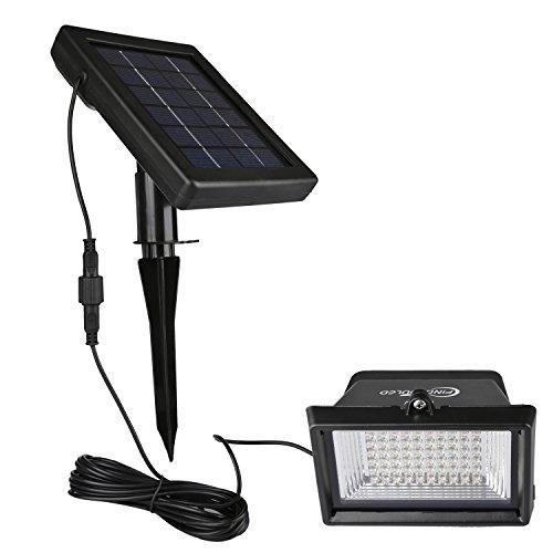 Solar Flood Lights Findyouled 60led120lumen White Outdoor Waterproof Landscape Lighting Security Solar Lights