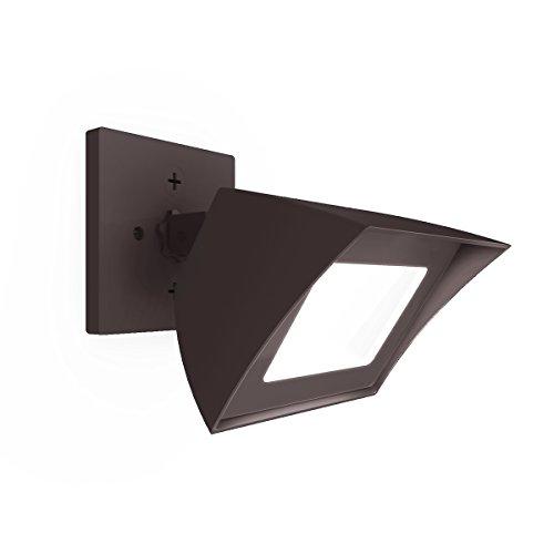 Wac Lighting Wp-led335-30-abz Contemporary Endurance Flood Light Outdoorindoor Wall Pack