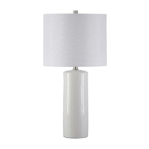 2525 in Ceramic Table Lamp in White - Set of 2
