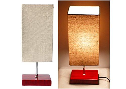 17H Minimalist Living Room Indoor Table Lamp - Rectangle