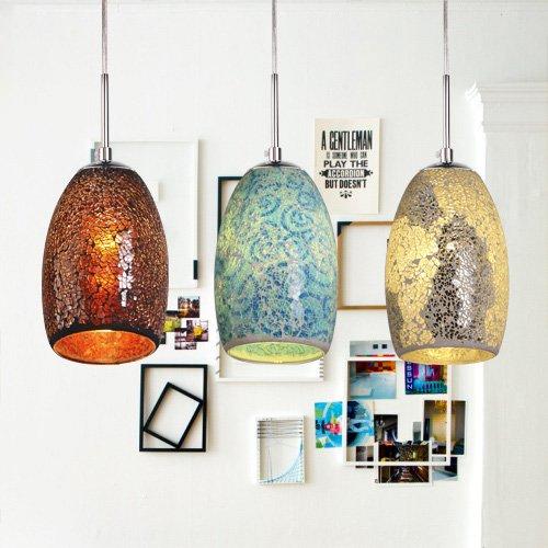 Lightinthebox Decoration Pendant 1 Light Tiffany Resin Glass Painting Processing Modern Home Ceiling Light