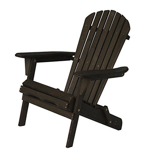 Carabelle Adirondack Chair Dark Brown