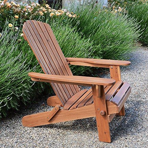 Plant Theatre Adirondack Folding Hardwood Chair - Superb Quality