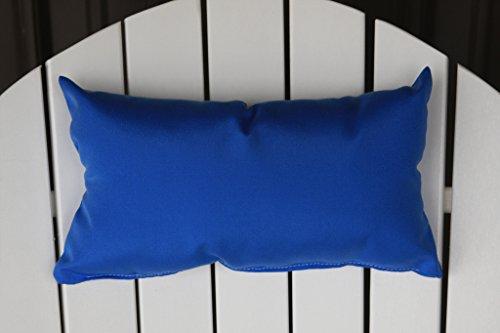 Outdoor Adirondack Chair Head Pillow Sundown Material- Light Blue