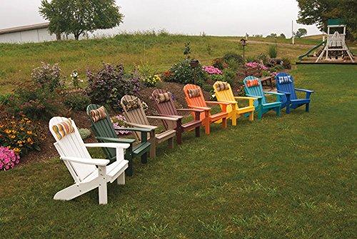 Outdoor Adirondack Chair Head Pillow Sundown Material- Natural