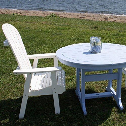 Malibu Outdoor Living Jamestown Adirondack Dining Chair - Lime