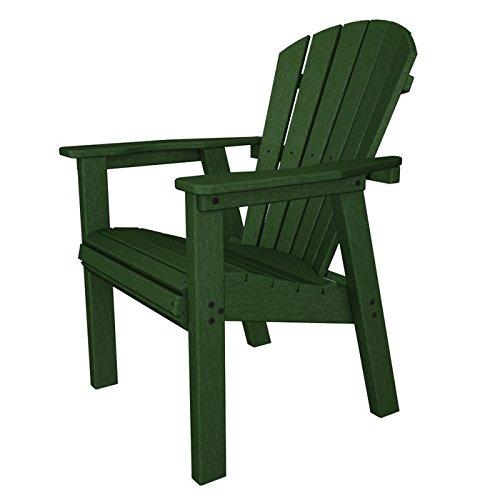 PolyWood Green Seashell Adirondack Dining Chair SHD19