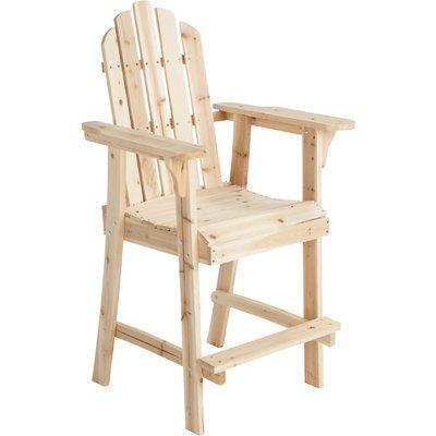 Tall Fir Wood Adirondack Chair