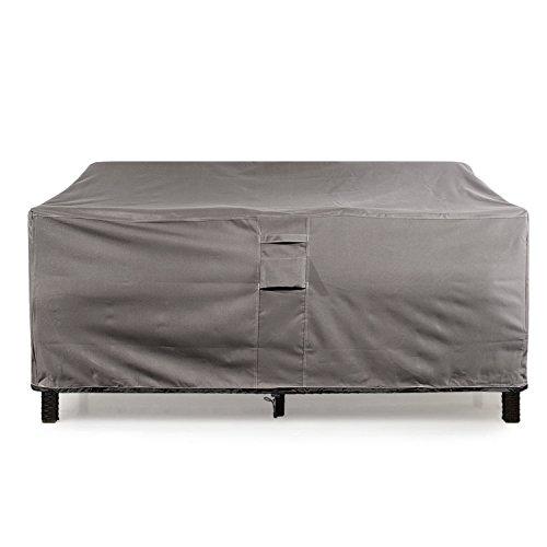 Khomo Gear - Titan Series - Waterproof Heavy Duty Outdoor Lounge Sofa Patio Cover - Large 88 Long