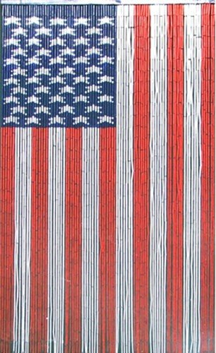 Bamboo Fifty Four 5273 Curtain American Flag