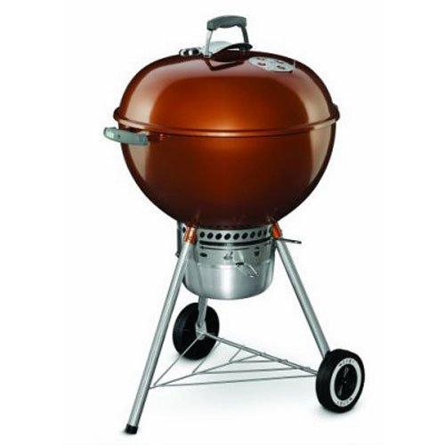 Weber 14402001 Original Kettle Premium Charcoal Grill 22-Inch Copper
