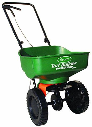 Scotts Turf Builder EdgeGuard Mini Broadcast Spreader Fertilizer Grass Seed