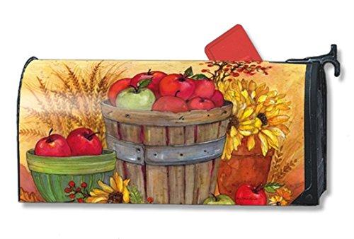 Magnetic Mailwrap Bushel Of Apples Large Mailbox Cover