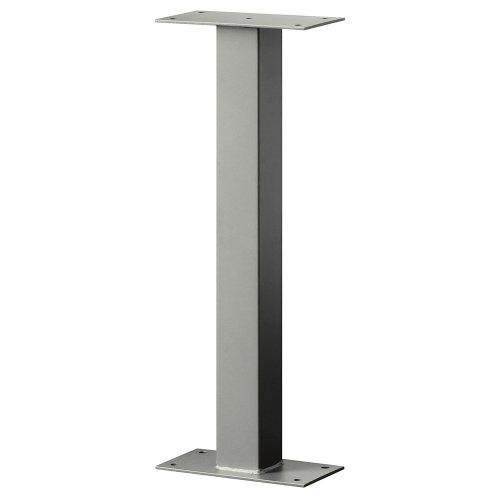 Salsbury Industries 4365d-nic Standard Pedestal Bolt Mounted For Designer Roadside Mailbox Nickel