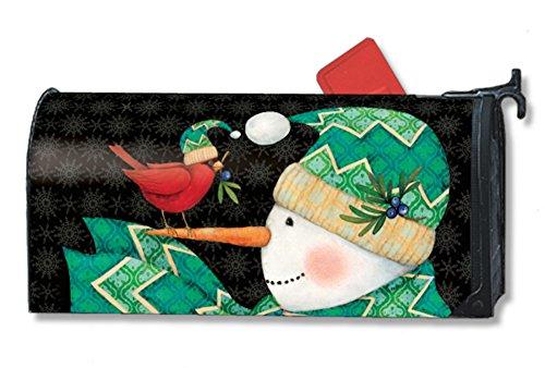 MailWraps Chevreon Snowman Mailbox Cover 01016
