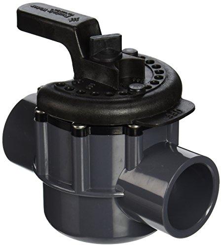 Pentair 263038 1-12-Inch 2-Way PVC Diverter Valve