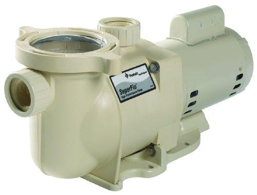 Pentair 340044 Superflo High Performance Energy Efficient Two Speed Pool Pump 2 Horsepower 230 Volt 1 Phase