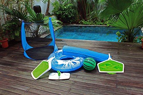 Pool Tote Swimming Pool Storage Bin For Beach Balls Floats Loungesamp Games