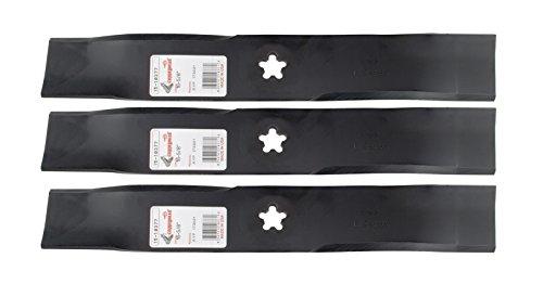 3 RotaryMulching Mower Blades - AYPRoperSearsHusqvarnaÂElectrolux 173921 532173921 917532173921 954633781 340091