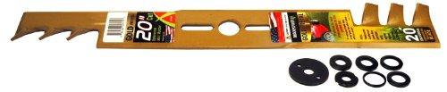 Maxpower 331980s 20-inch Universal Gold Metal Mulching Lawn Mower Blade