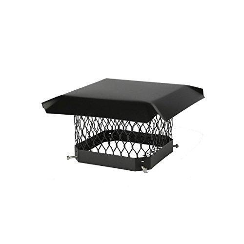 Shelter Sc1818 Galvanized Steel Chimney Cap Fits Outside Tile 18 X 18 Model Sc1818 Outdooramp Hardware Store