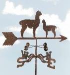 EZ Vane Alpaca and Baby Weathervane