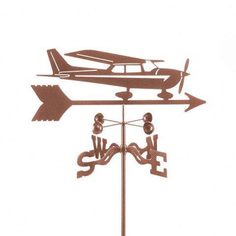 EZ Vane EZ1003-PT Cessna Airplane Weathervane with Post Mount