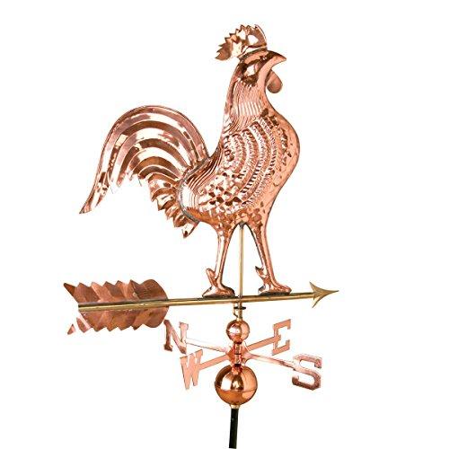 Weathervane Copper Rooster Large Daybreak  Renovators Supply