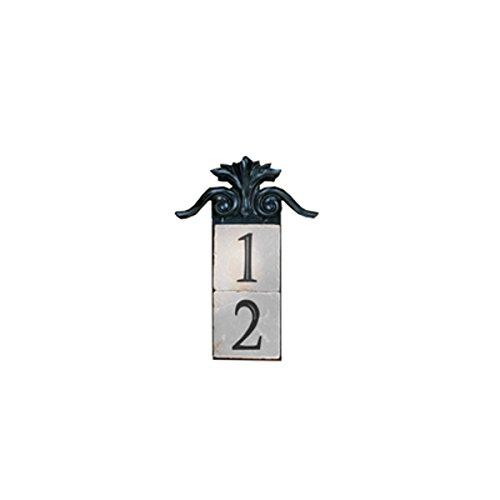 NACH KA-LARGE CREST-2 House AddressNumber Sign Plaque