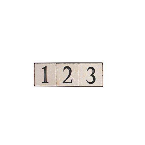 NACH KA-PLATE-3 House AddressNumber Sign Plaque